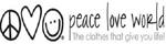 peace love world promo code